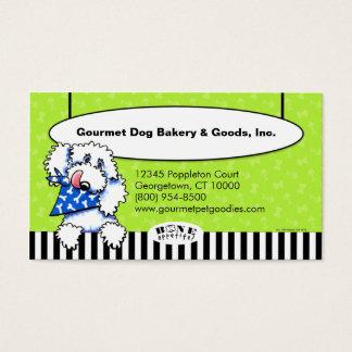 Os de chien Appetit ! Aliments pour animaux Cartes De Visite