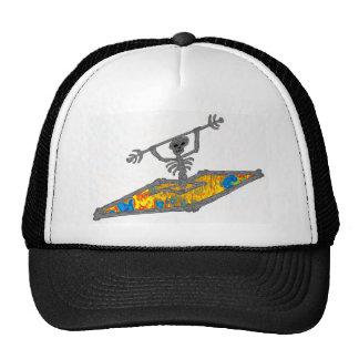 Os de hippie de kayak casquette de camionneur