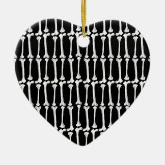 Os Ornement Cœur En Céramique