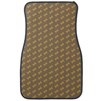 os pour la texture de chien tapis de sol