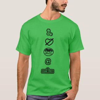 Oscar les icônes de rouspéteur t-shirt