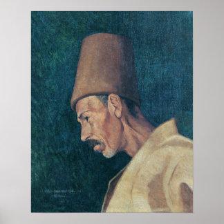 Osman Hamdi Bey Kökenoğlu Rıza Efendi Poster