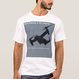 Osprey. de Cloche-Boeing V-22 T-shirt