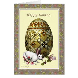 Ostara heureux - équinoxe vernal - fleurs de cartes