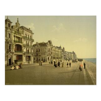 Ostende - le remblai cartes postales