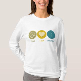 Ostéopathie d'amour de paix t-shirt