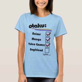 Otaku (version femelle - mâle disponible) t-shirt