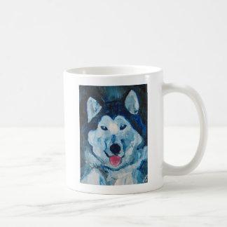 Otis dans la tasse bleue