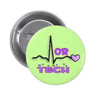 OU cadeaux de TECH--Conception de QRS Badge Rond 5 Cm