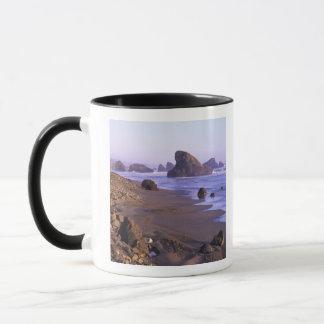 OU, côte de l'Orégon, crique de Myers, formations Mug