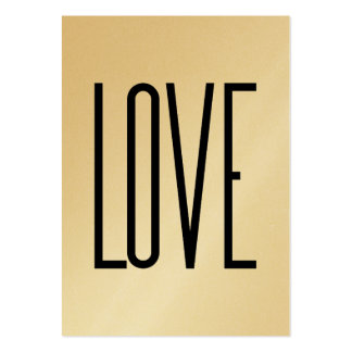 Ou Élégante - amour Carte De Visite Grand Format