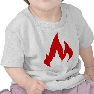 Où est le feu ? t-shirts