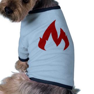 Où est le feu ? vêtement pour animal domestique
