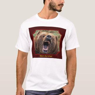 """""""Où est mon café ?"""" T-shirt d'ours"""