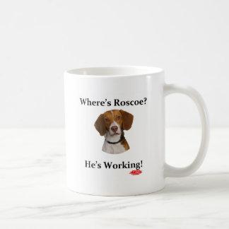 Où est Roscoe ? Mug