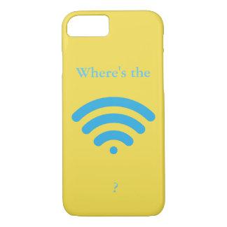 Où est WiFi ? Coque iPhone 7