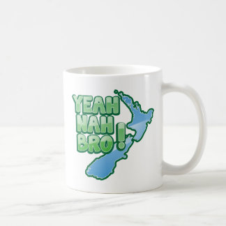 Ouais nah conception d'Auckland de KIWI de BRO Mug
