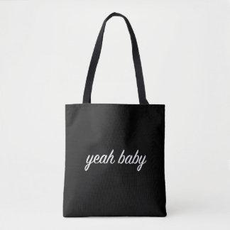 ouais tumblr grunge de sac fourre-tout à bébé