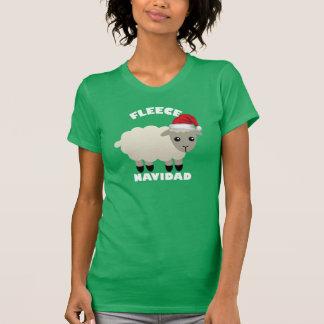 Ouatine de chemise de Noël (Feliz) Navidad avec T-shirt