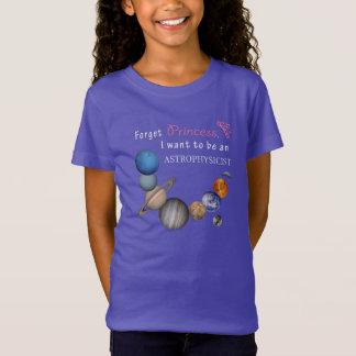 Oubliez la princesse - astrophysicienne T-Shirt