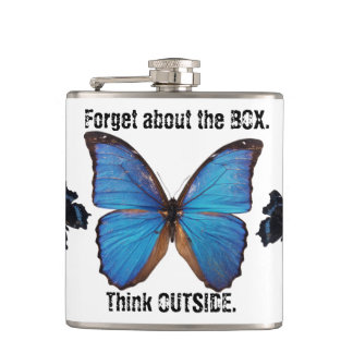 Oubliez que la boîte pensent en dehors du flacon