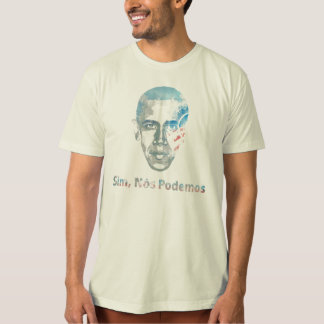 oui bresilian de portugues de Barack Obama nous T-shirt