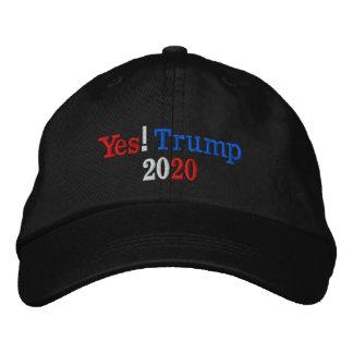 Oui ! Campagne de l'atout 2020 Casquette Brodée