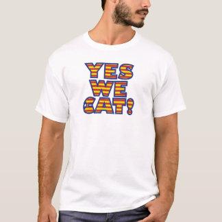 oui--chat t-shirt