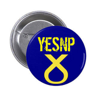 Oui insigne du vote SNP de l'Ecosse Pin's