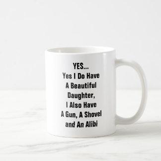 Oui j'ai une belle fille, j'ai également A Mug