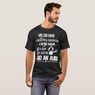 Oui j'ai une belle fille t-shirt