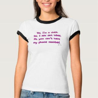 Oui je monte le T-shirt de vélos de saleté