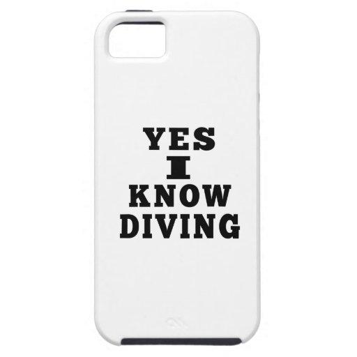 Oui je sais la plongée coques iPhone 5