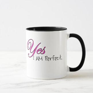 Oui JE SUIS parfait Mug