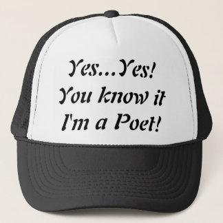 Oui je suis un casquette de camionneur de poète !