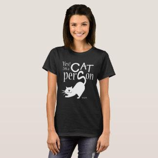OUI, je suis une personne de chat T-shirt