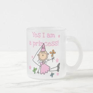 Oui je suis une princesse tasse givré