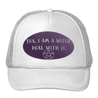 Oui je suis une sorcière, affaire avec lui ! casquettes de camionneur