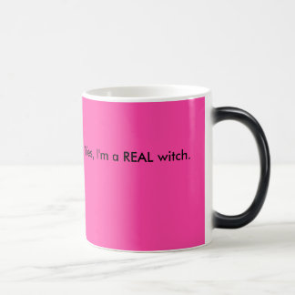 Oui, je suis une VRAIE sorcière Mug Magic