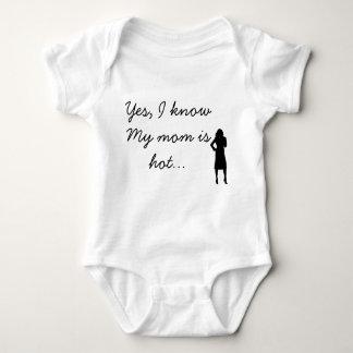 Oui, ma maman est chaude t-shirt