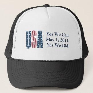 Oui nous avons fait le casquette mort de Ben Laden