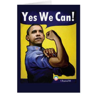 Oui nous pouvons ! Carte