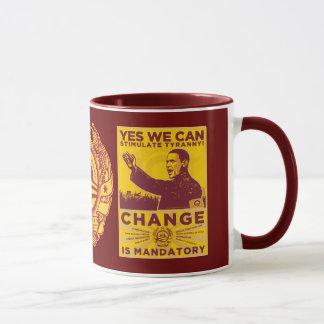 Oui nous pouvons ! Obama charrient la tasse