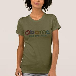Oui nous pouvons T-shirt d'Obama