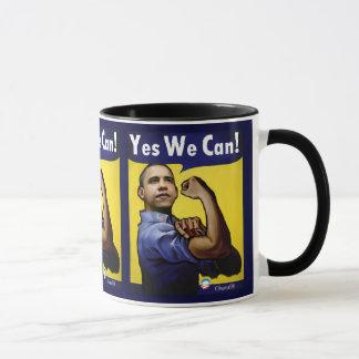 Oui nous pouvons ! Tasse