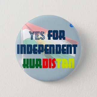 Oui pour le Kurdistan indépendant Pin's