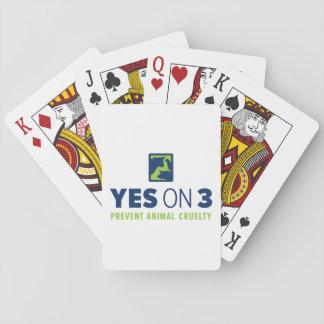 Oui sur 3 ! Cartes de jeu Jeu De Cartes