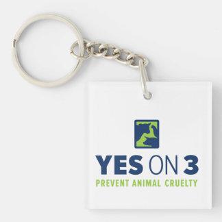 Oui sur 3 ! Porte - clé Porte-clés