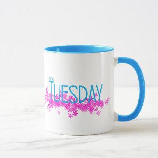 Oui tasse combinée de mardi