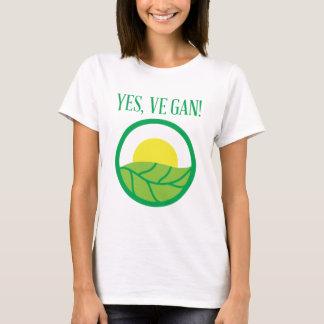 Oui végétalien ! t-shirt